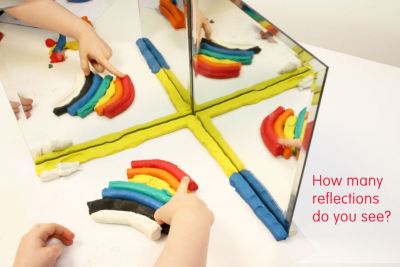 Mirror Magic – Pattern, Reflection, Angles - Step Two