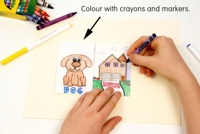 PICTURING COMPOUND WORDS – Colour, Shape, Contrast - Step Three
