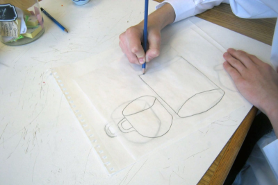 CREATING CUBISM – Shape, Colour, Harmony - Step Two