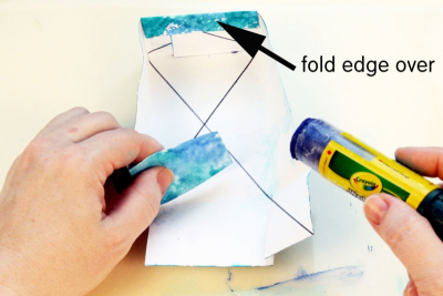 SMALL BOX WITH A LID – Printmaking, Geometry, Colour - Step Ten