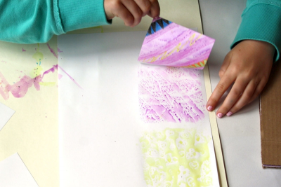 QUILT BOOK – Printmaking, Colour, Shape, Pattern - Step Four
