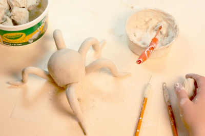 FANTASTICAL CLAY ANIMALS – Inspired by Alebrijes - Step Eight