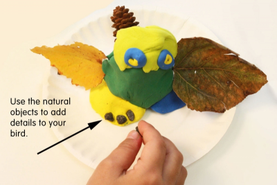 COLOURFUL FALL BIRDS – Colour Mixing, Texture, Form - Step Five