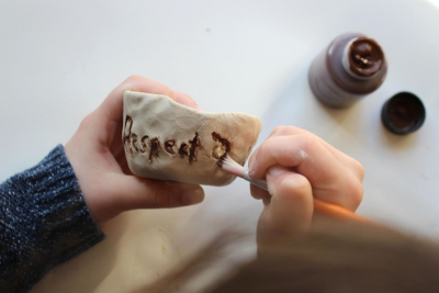 SEVEN GRANDFATHER TEACHINGS – Clay, Texture - Step Eight