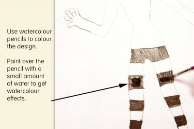 COSTUME DESIGN – Proportion, Colour, Detail - Step Five
