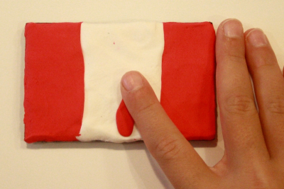 CELEBRATION BROOCHES – Colour, Canadian Symbolism - Step Three