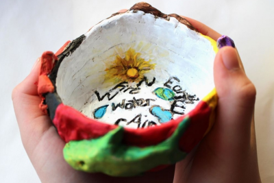 MEDICINE WHEEL –  Directions, Elements, Clay - Step Thirteen