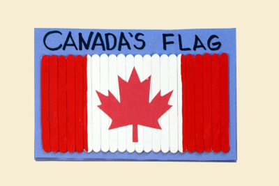 CANADA'S FLAG – Facts and Figures, Measurement - Step Seven