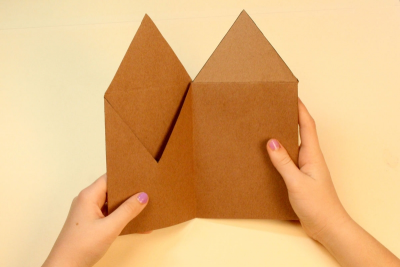 FAMILY HOLIDAY TRADITIONS – Bookmaking, Shape, Contrast - Step Nine