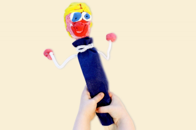 STICK PUPPET – Form, Colour, Texture - Step Seven