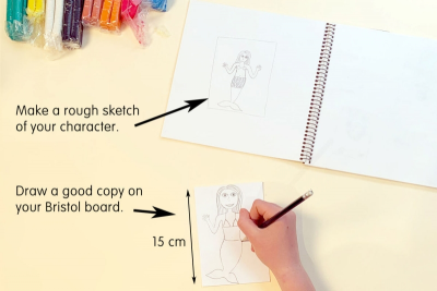 FLAT ANIMATION PUPPETS – Texture, Shape, Colour - Step One