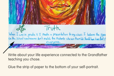 SELF-PORTRAIT – Seven Grandfather Teachings - Step Eight