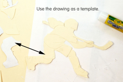 WHAT AN EXPERIENCE! –Printmaking, Analogous Colours - Step Two