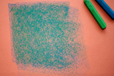 EXPLORING OIL PASTEL – Coloured Paper - Step Seven