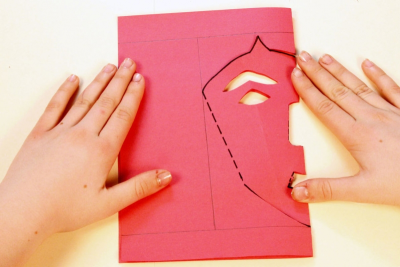 POP-UP MASK – Contrast, Symmetry, Measurement - Step Seven
