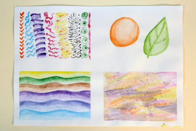 EXPLORING WATERCOLOUR PENCILS – Simple Techniques - Step Ten