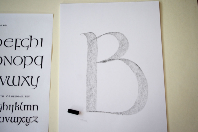 DECORATED LETTER – Pattern, Colour, Symbolism - Step Two