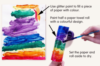 COLOURFUL HANGING PAIRS – Colour, Shape, Texture - Step One