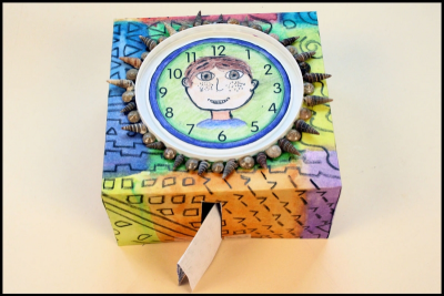 MEMORY CLOCK –Passage of Time, Pattern, Colour - Step Nine