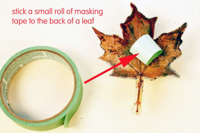 MY LITTLE LEAF BOOK – Shape, Contrast, Pattern - Step Three