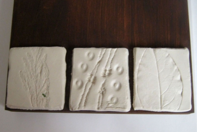 CLAY ENVIRONMENTAL STUDY – Texture, Harmony - Step Six