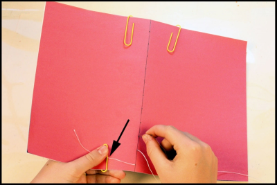 CREATING A SIMPLE BOUND BOOK – Measurement, Form - Step Six