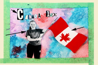 CANADIAN DREAMS –Rule of Thirds, Canada 150 - Step Six