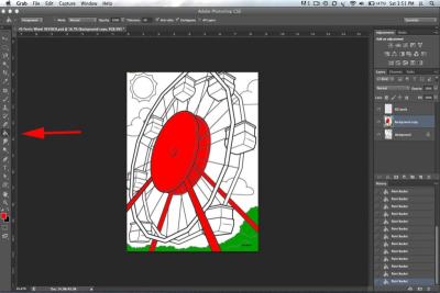 PHOTOSHOP BASICS – Adding Colour - Step Ten