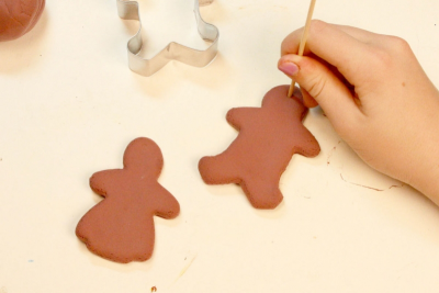 FAMILY HOLIDAY TRADITIONS – Bookmaking, Shape, Contrast - Step Sixteen