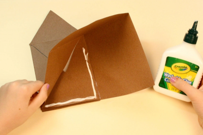 FAMILY HOLIDAY TRADITIONS – Bookmaking, Shape, Contrast - Step Ten