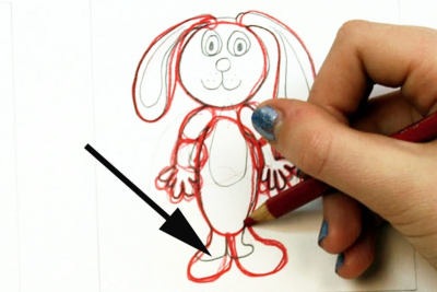 CUT-OUT PAPER ANIMATION – Creating a Jointed Figure - Step Two