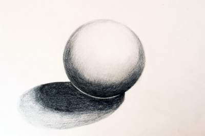 SHADING SPHERES – Gradation, Form, Colour - Step Three