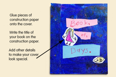 BOOK OF DAYS – Days of the Week, Colour, Shape - Step Two