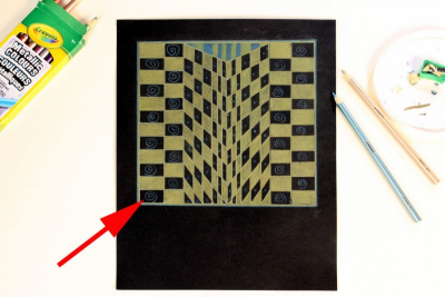 THE GRID – Creating Optical Illusions - Step Five