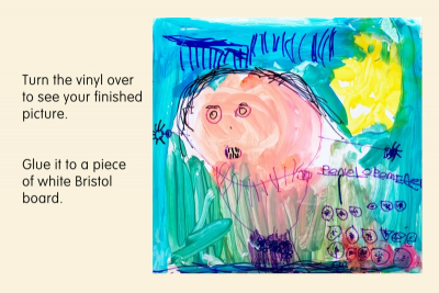 PICTURE A STORY –Colour Mixing, Line, Detail - Step Four