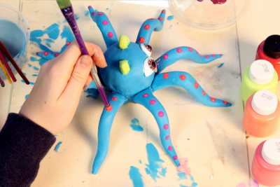FANTASTICAL CLAY ANIMALS – Inspired by Alebrijes - Step Nine