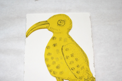 RELIEF PRINTS – Marker and Craft Foam - Step One