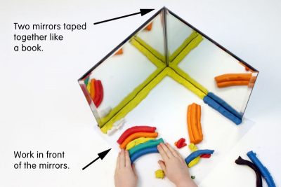 MIRROR MAGIC – Pattern, Reflection, Angles - Step One