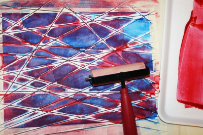 PRINTMAKING – Colour, Shape and Line - Step Seven