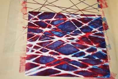 PRINTMAKING – Colour, Shape and Line - Step Eight