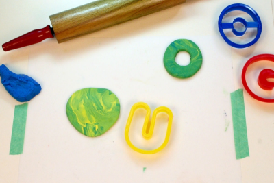 MY BEAUTIFUL NAME – Colour Mixing, Counting, Shape - Step Three
