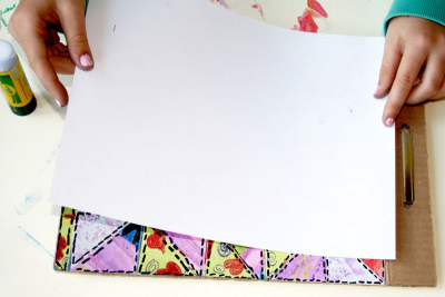 QUILT BOOK – Printmaking, Colour, Shape, Pattern - Step Nine