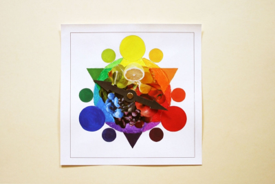 EXPLORING COLOUR – Creating a Colour Wheel - Step Six