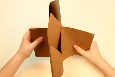 FAMILY HOLIDAY TRADITIONS – Bookmaking, Shape, Contrast - Step Eight