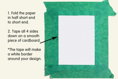 PHOTO TRANSFER GREETING CARD – Pattern, Colour, Contrast - Step One