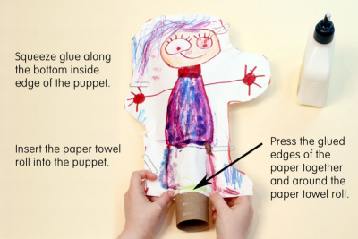 SUPER STUFFY PUPPET – Form, Colour, Pairs - Step Six