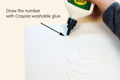 WHAT'S IN A NUMBER? –Counting, Whole Numbers, Texture - Step One