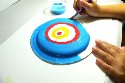 PAPIER-MÂCHÉ KANDINSKY BOWL – Form, Colour, Contrast - Step Six