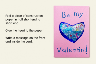 BE MY VALENTINE – Shape, Line, Pattern - Step Seven