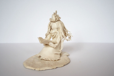 SEATED CLAY FIGURE – Proportion, Texture, Space - Step Twenty-Two